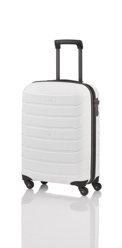 Titan LIMIT Velmi odolný skořepinový palubní kufr 55cm (White)