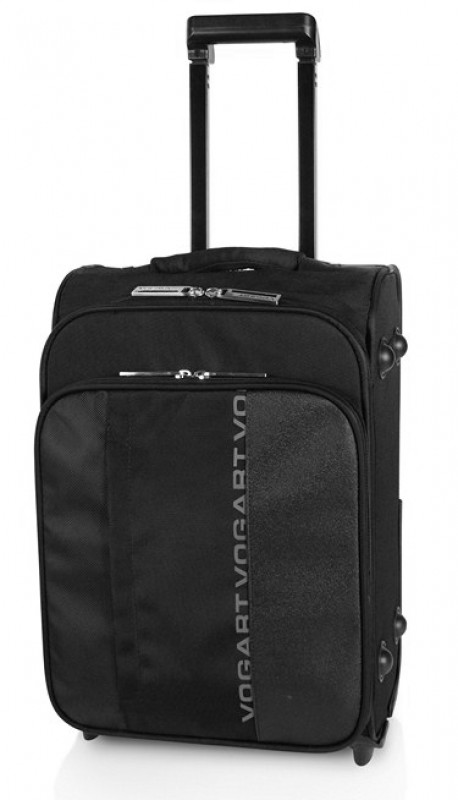 Vogart FINLAY Kabinový kufr na 2 kolečkách (Black)