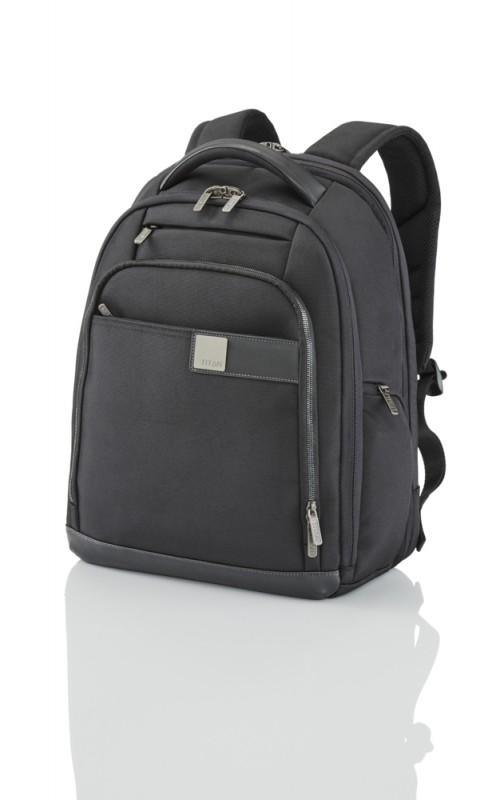 Titan POWER PACK Stylový business batoh na 15,6 NTB (Black)