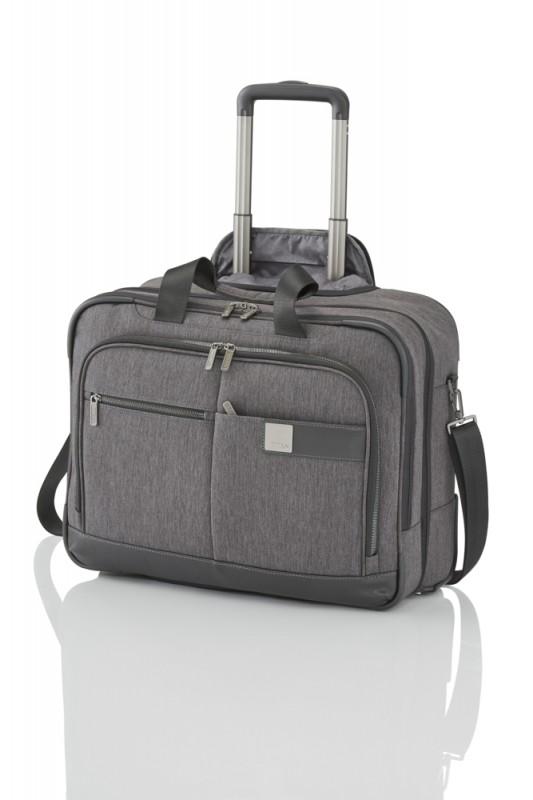 Titan POWER PACK Textilní business kufr na kolečkách pro 17 NTB (Anthracite)