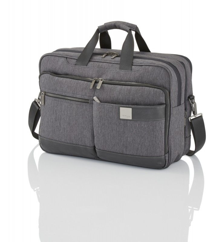 Titan POWER PACK Stylová business brašna na 15,6 NTB, L (Anthracite)