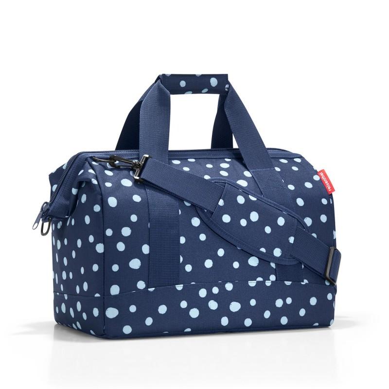 Reisenthel ALLROUNDER Cestovní taška přes rameno, M (Spots Navy)