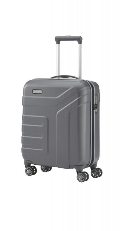 Travelite VECTOR Moderní kufr na čtyřech kolečkách 55 cm (Anthracite)