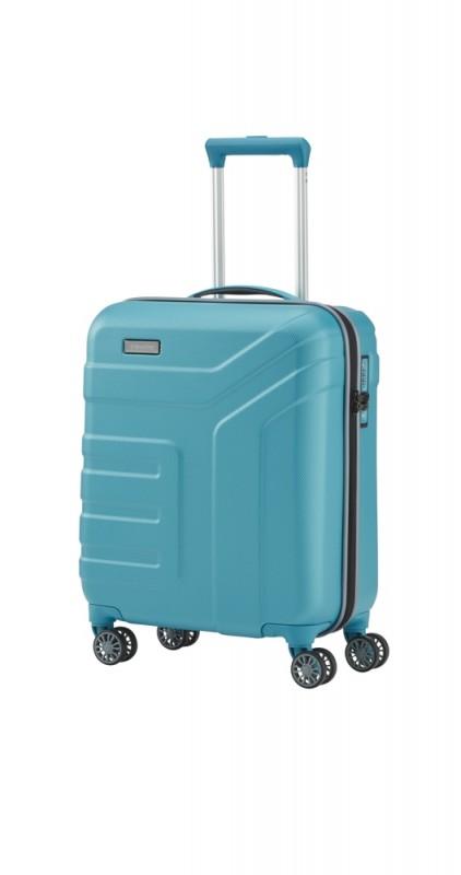 Travelite VECTOR Moderní kufr na čtyřech kolečkách 55 cm (Turquoise)