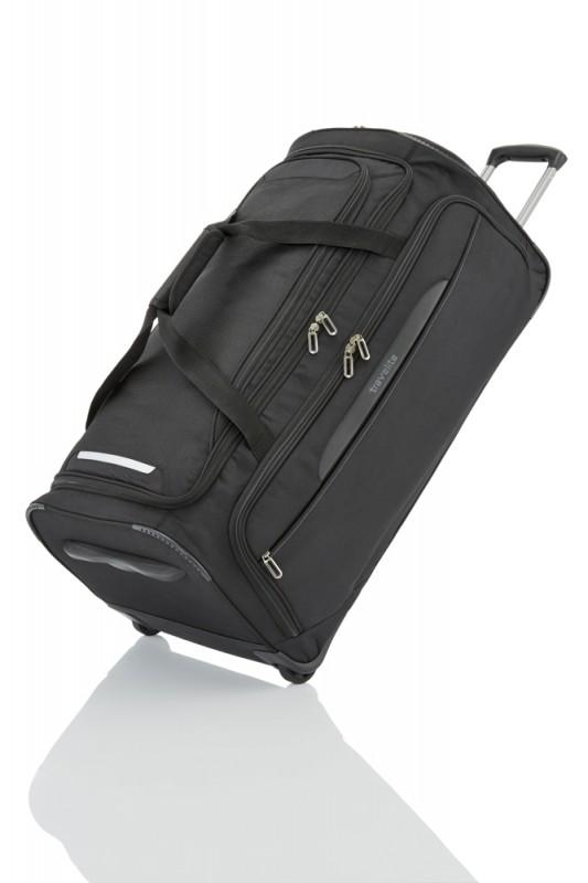 Travelite CROSSLITE Cestovní taška 2 kolečka 79cm (Black)