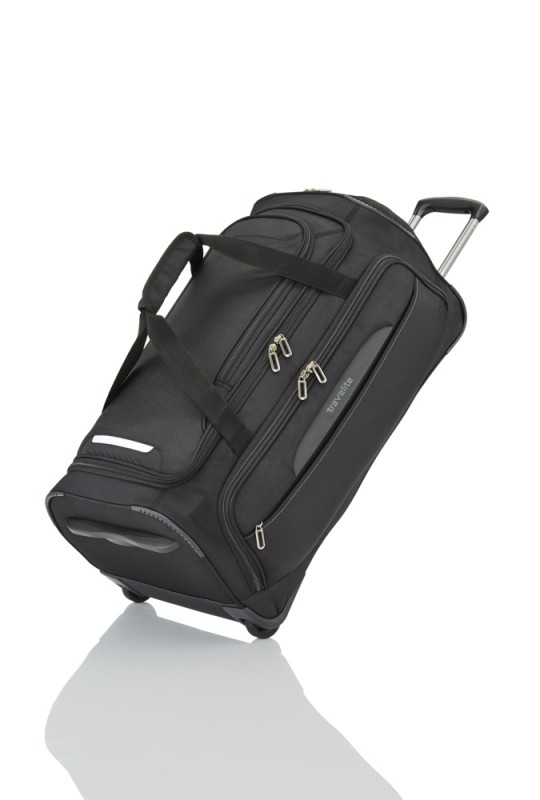 Travelite CROSSLITE Cestovní taška 2 kolečka 69cm (Black)