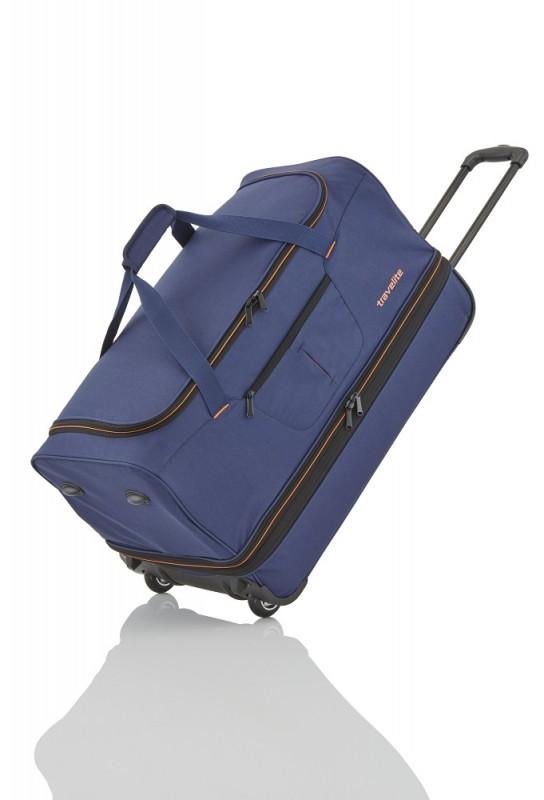 Travelite BASICS Cestovní taška 2 kolečka, 70 cm (Navy/orang)