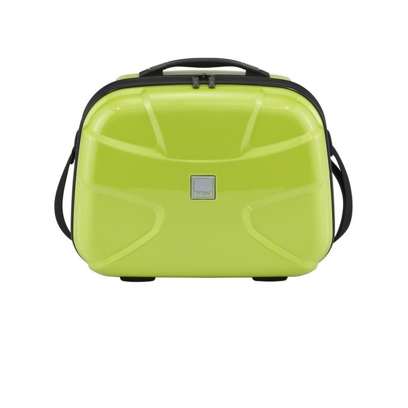 Titan X2 FLASH Kosmetický kufřík (Lime Green)