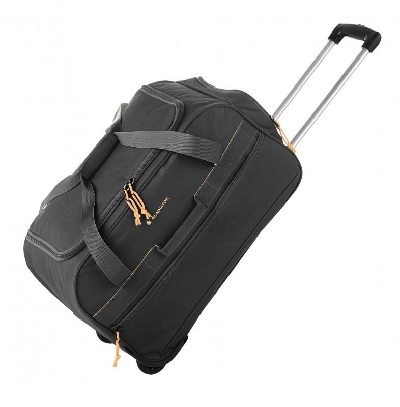 Gladiator EXPEDITION Malá cestovní taška na kolečkách, S (Black)