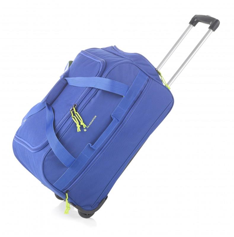 Gladiator EXPEDITION Velká cestovní taška na kolečkách, XL (Blue)