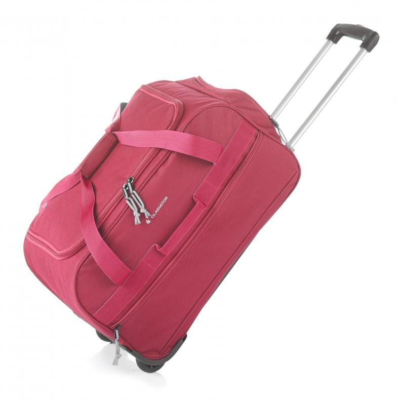 Gladiator EXPEDITION Malá cestovní taška na kolečkách, S (Red)