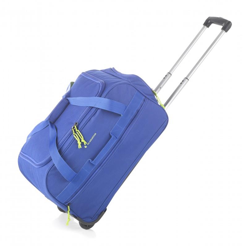 Gladiator EXPEDITION Malá cestovní taška na kolečkách, S (Blue)