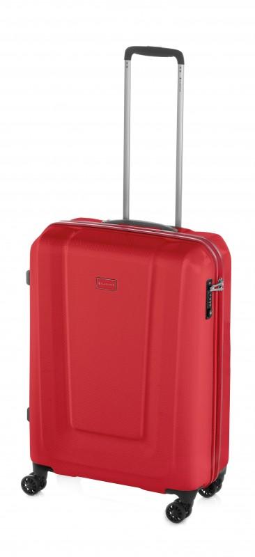 Gladiator U-MYTO Extra lehký polykarbonový palubní kufr 55cm (Red)