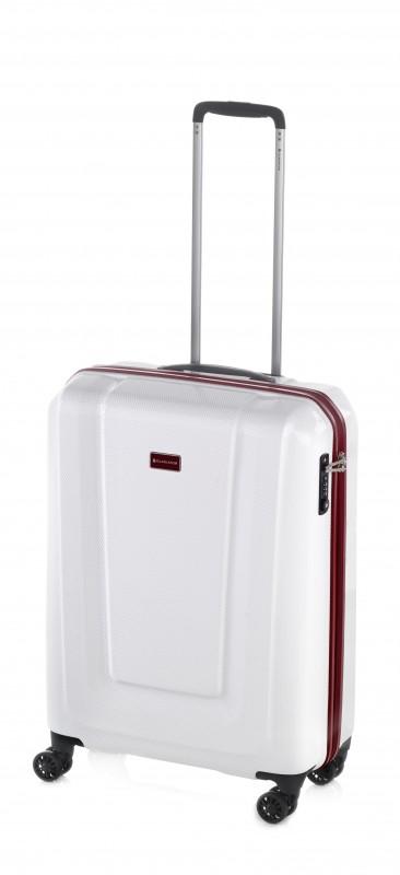 Gladiator U-MYTO Extra lehký polykarbonový palubní kufr 55cm (White)