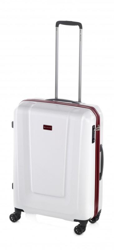 Gladiator U-MYTO Extra lehký polykarbonový kufr 67cm (White)