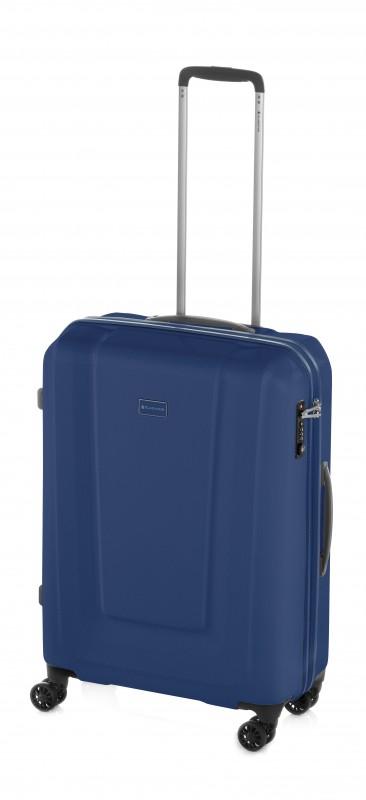 Gladiator U-MYTO Extra lehký velký polykarbonový kufr 77cm (Navy)