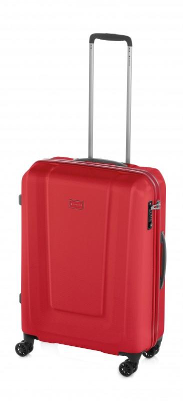 Gladiator U-MYTO Extra lehký velký polykarbonový kufr 77cm (Red)