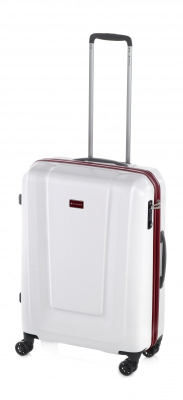 Gladiator U-MYTO Extra lehký velký polykarbonový kufr 77cm (White)