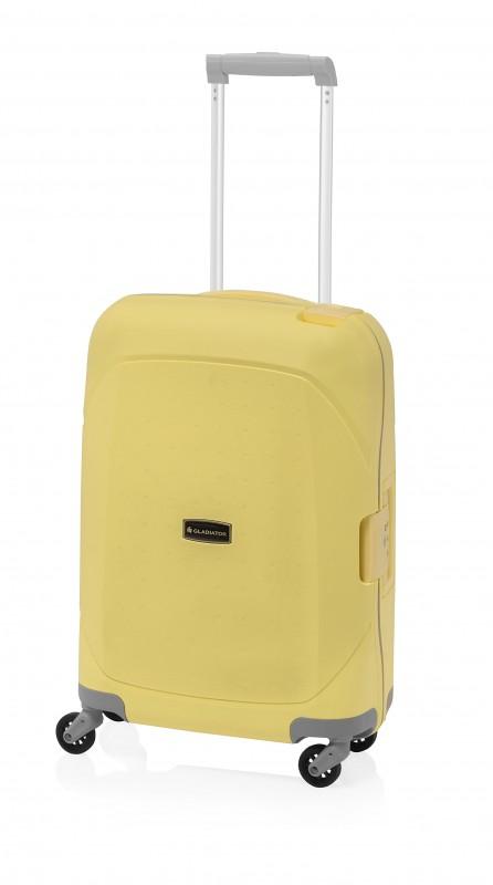 Gladiator TARIFA Velký polypropylenový cestovní kufr 78cm (Yellow)