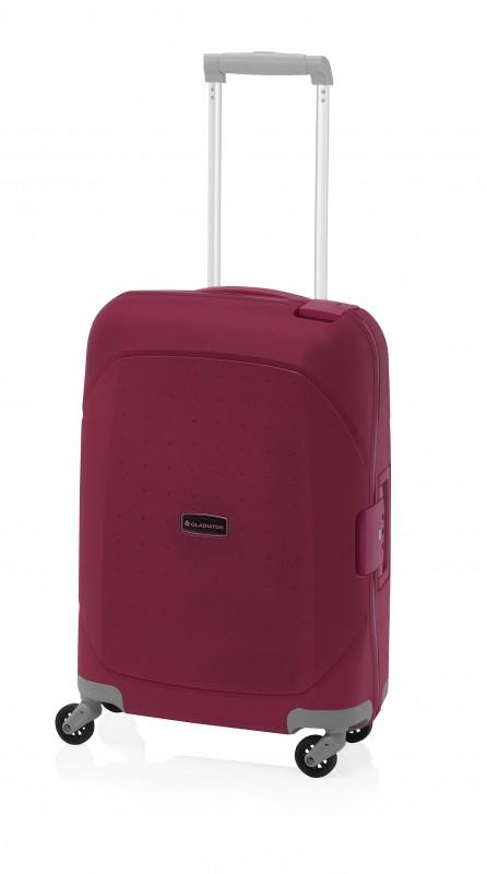 Gladiator TARIFA Polypropylenový cestovní kufr 68cm (Red)