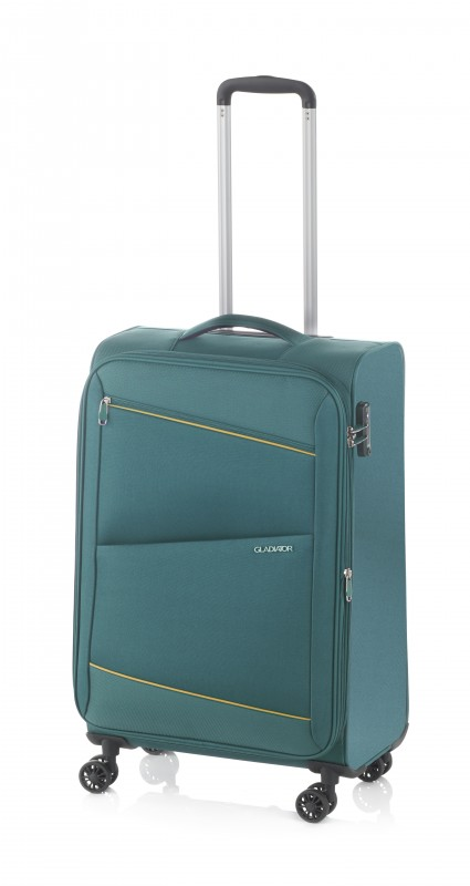 Gladiator BEL-AIR Rozšířitelný palubní kufr 55cm (Green)