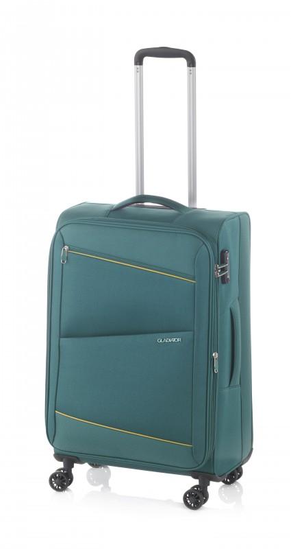 Gladiator BEL-AIR Rozšířitelný velký cestovní kufr 78cm (Green)