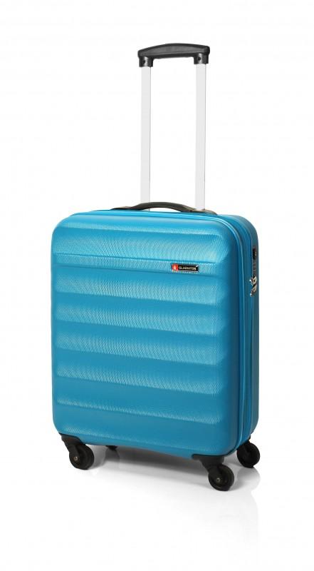 Gladiator GROW UP Rozšířitlný plastový kufr z ABS 54cm (Azur)