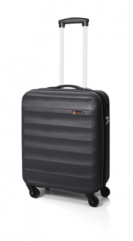 Gladiator GROW UP Rozšířitlný plastový kufr z ABS 54cm (Grey)