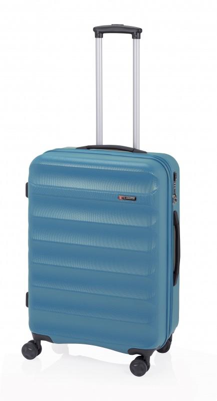Gladiator GROW UP Rozšířitlný střední plastový kufr z ABS 67cm (Azur)