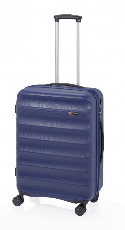 Gladiator GROW UP Rozšířitlný střední plastový kufr z ABS 67cm (Navy)