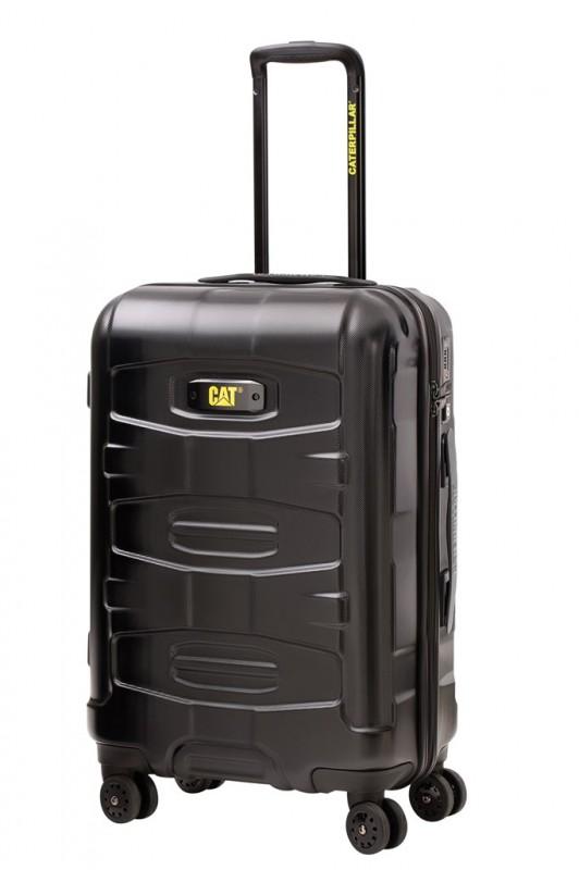 Cat TANK Středně velký cestovní kufr 68cm (černý)