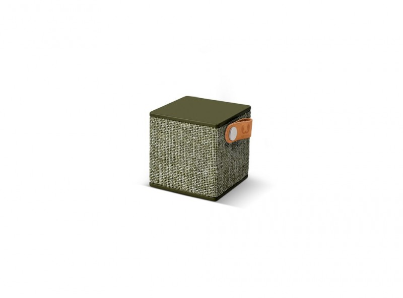 FRESH´N REBEL Rockbox Cube Fabriq Edition Bluetooth reproduktor (Army)