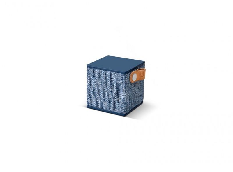 FRESH´N REBEL Rockbox Cube Fabriq Edition Bluetooth reproduktor (Indigo)