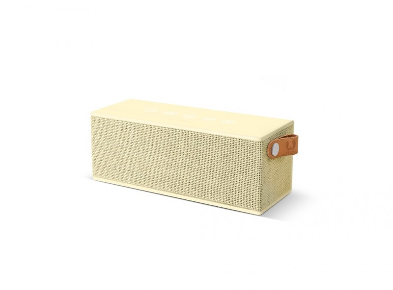 FRESH´N REBEL Rockbox Brick Fabriq Edition Bluetooth reproduktor (Buttercup)