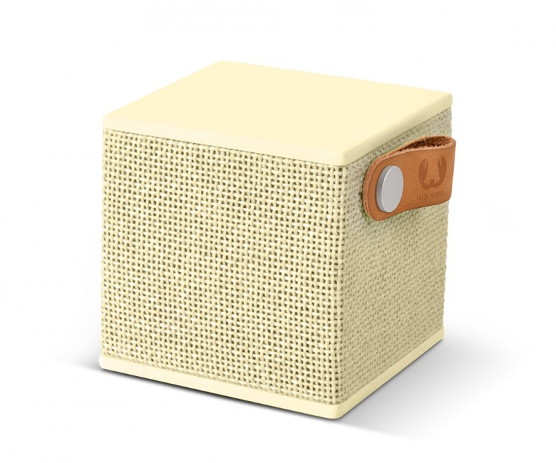 FRESH´N REBEL Rockbox Cube Fabriq Edition Bluetooth reproduktor (Buttercup)