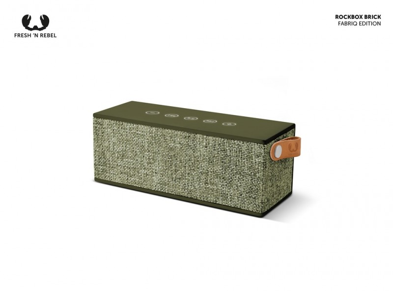 FRESH´N REBEL Rockbox Brick Fabriq Edition Bluetooth reproduktor (Army)
