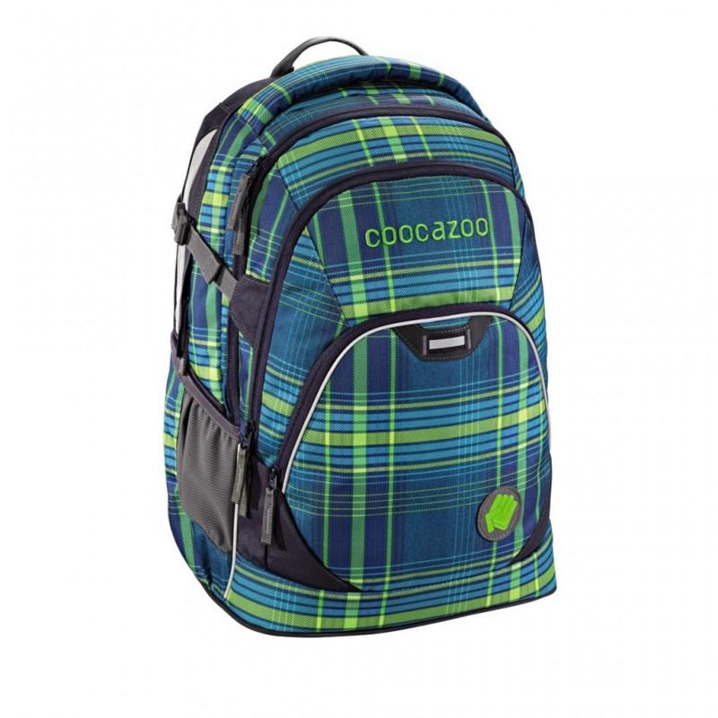 Coocazoo EVVERCLEVVER2 Školní batoh - Walk The Line Lime