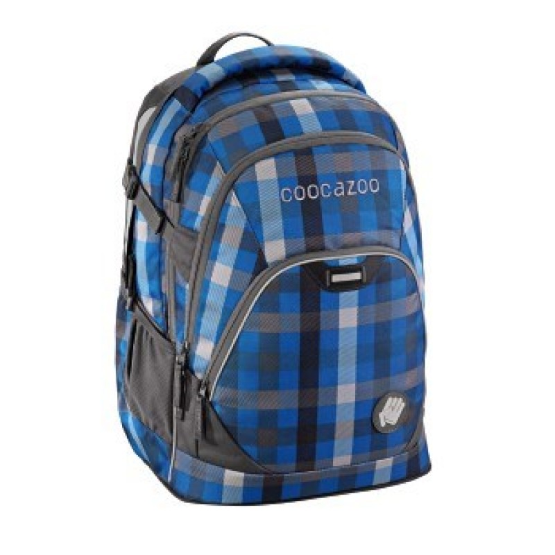 Coocazoo EVVERCLEVVER2 Školní batoh - Hip To Be Square Blue