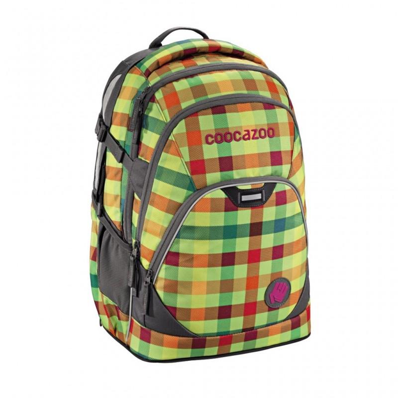 Coocazoo EVVERCLEVVER2 Školní batoh - Hip To Be Square Green