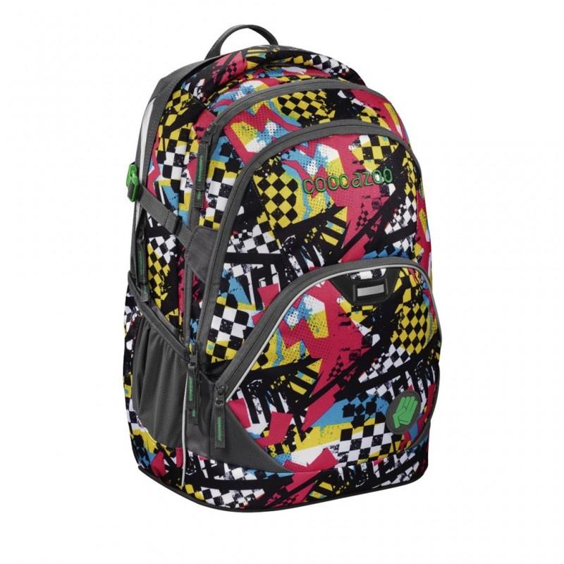 Coocazoo EVVERCLEVVER2 Školní batoh - Checkered Bolts