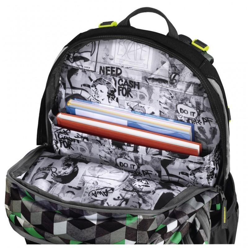 Coocazoo EVVERCLEVVER2 Školní batoh - Crazy Cubes ≡ Kufry-zavazadla.eu be44852686