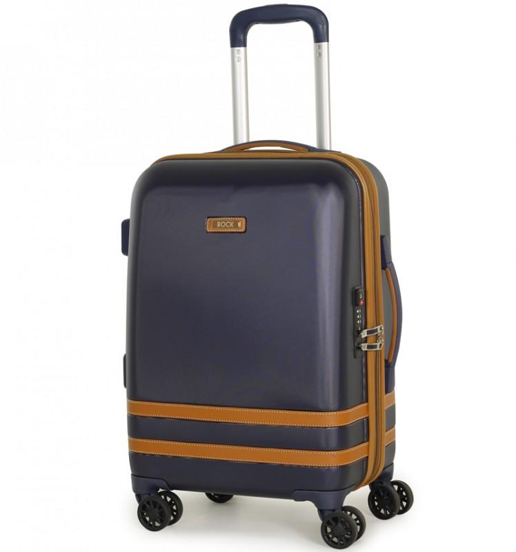 Rock VALENCE Kabinové zavazadlo z ABS 55cm (Modrá)