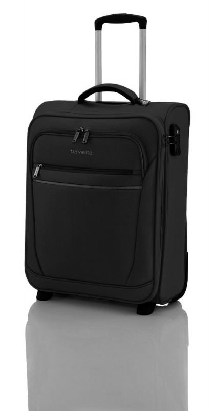 Travelite CABIN Textilní palubní kufr 2w (Black)