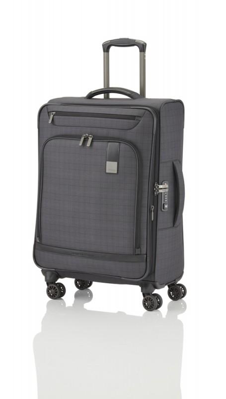 Titan CEO Moderní rozšířitelný business kufr 4w 68cm (Glencheck)