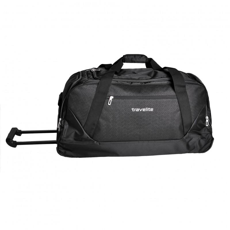 Travelite KICK-OFF Velká cestovní taška na kolečkách 75 cm XL (Black)
