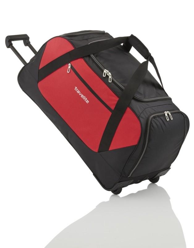 Travelite KICK-OFF Velká cestovní taška na kolečkách 75 cm XL (Red)