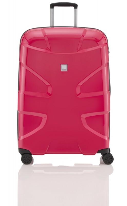 Titan X2 FLASH Exkluzivní skořepinový kufr 76cm (Fresh pink)
