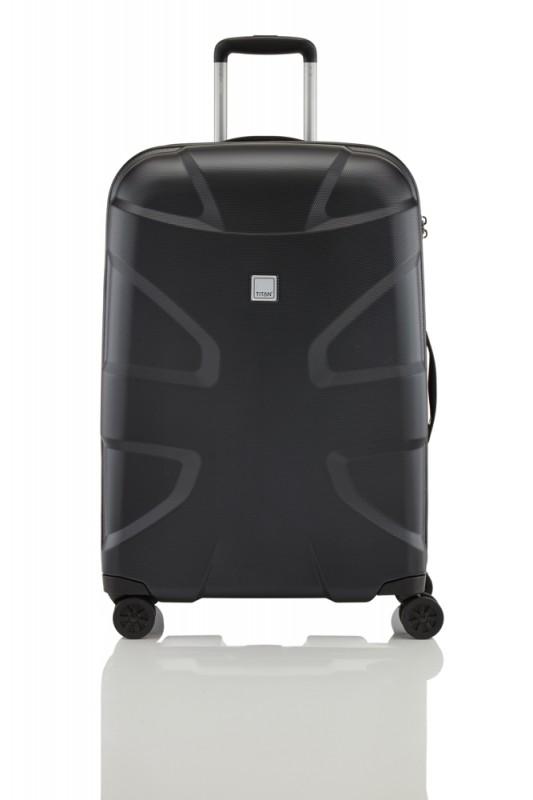 Titan X2 SHARK SKIN Exkluzivní kufr s hrubým povrchem 70cm (Black)