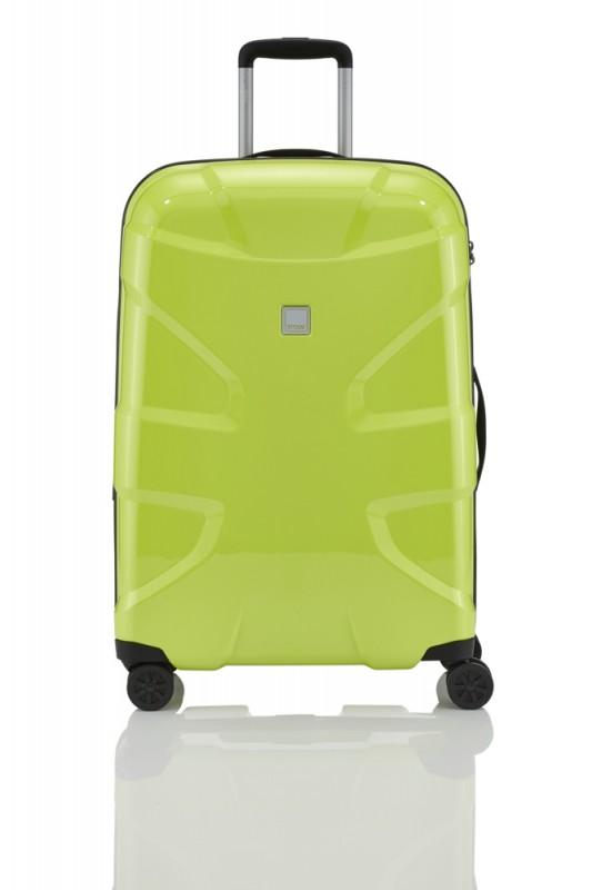 Titan X2 FLASH Exkluzivní skořepinový kufr 71cm (Lime green)