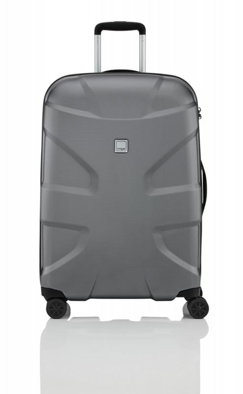Titan X2 SHARK SKIN Exkluzivní kufr s hrubým povrchem 70cm (Gunmetal)